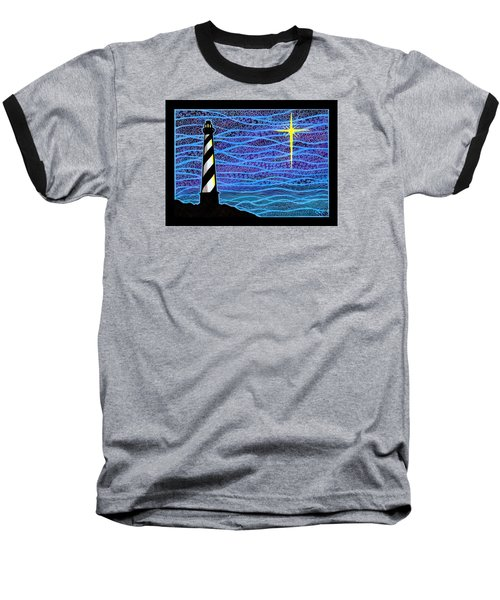 O Holy Night Hatteras Baseball T-Shirt
