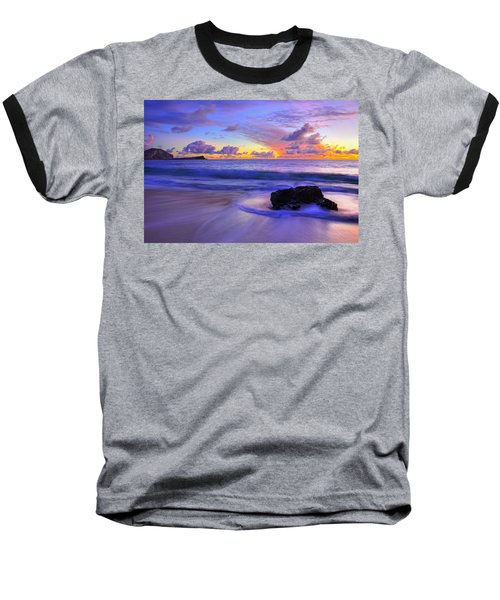 Oahu Sunrise Baseball T-Shirt