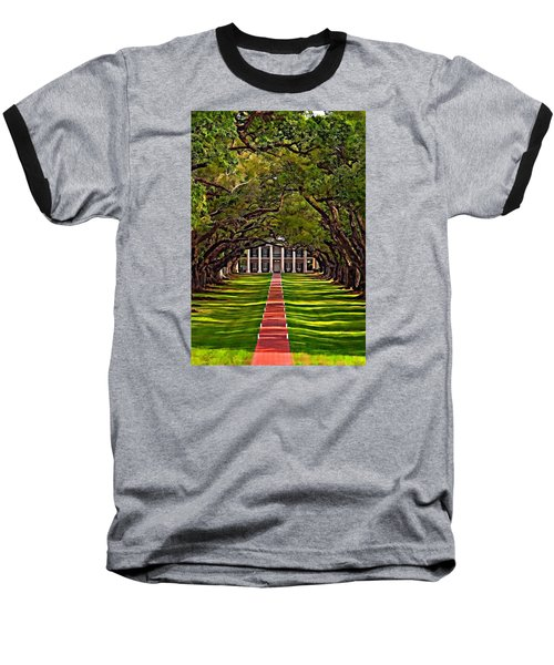 Oak Alley II Baseball T-Shirt