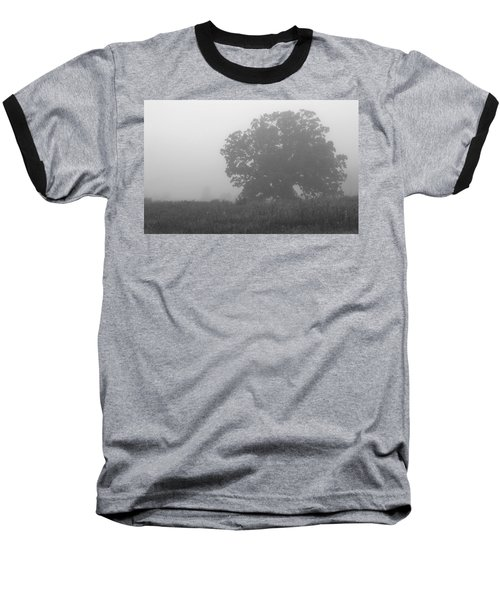 Oak In The Fog Baseball T-Shirt