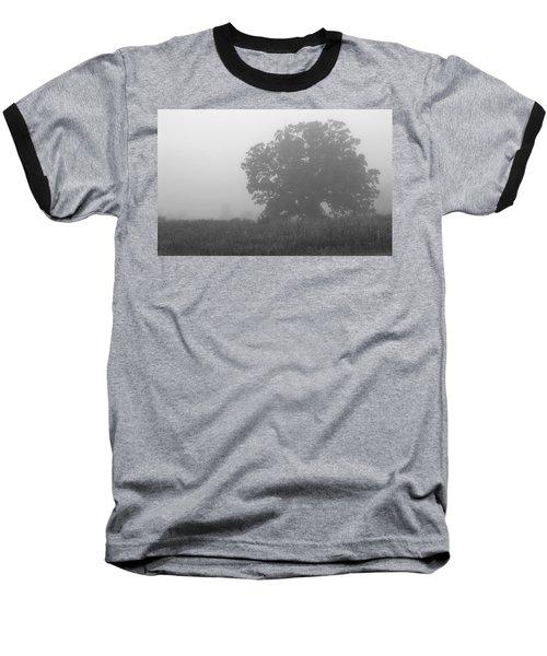 Oak In The Fog Baseball T-Shirt