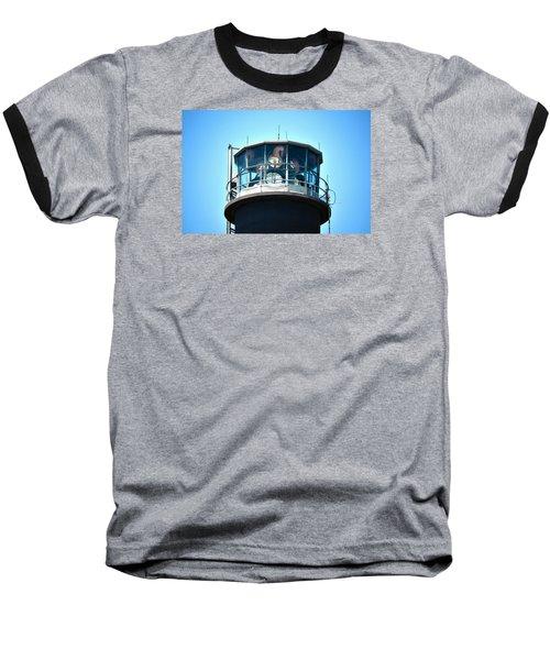 Oak Island Lighthouse Beacon Lights Baseball T-Shirt
