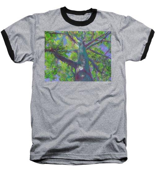 Oak Tree 1 Baseball T-Shirt
