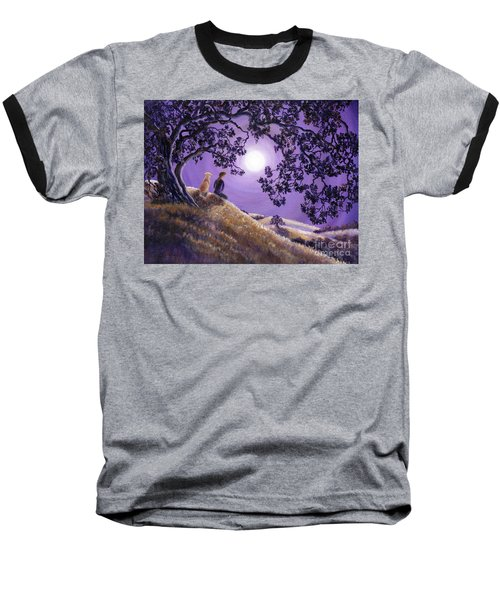 Oak Tree Meditation Baseball T-Shirt