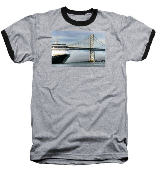Oakland Bay Bridge  Baseball T-Shirt