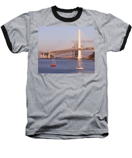 Oakland Bridge Baseball T-Shirt