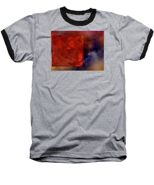 Baseball T-Shirt featuring the digital art Obscure Blessings by Jeff Iverson