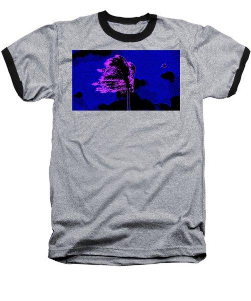 Ocean Art 111 Baseball T-Shirt by David Mckinney