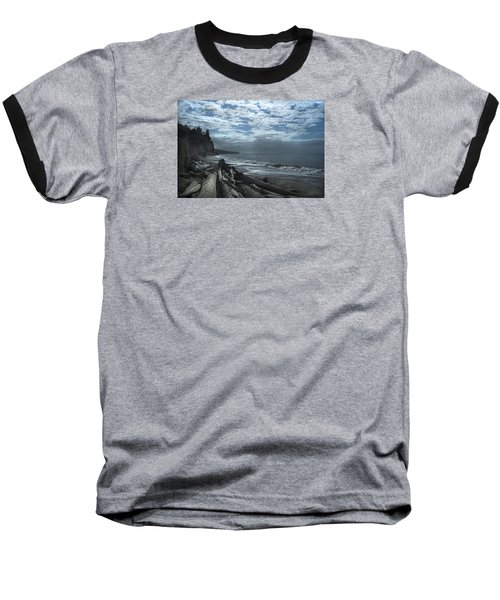 Ocean Beach Pacific Northwest Baseball T-Shirt