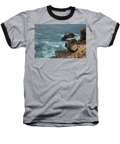 Ocean Below Baseball T-Shirt