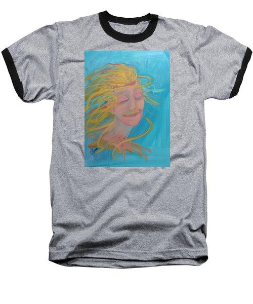 Ocean Breeze Baseball T-Shirt by Terri Einer