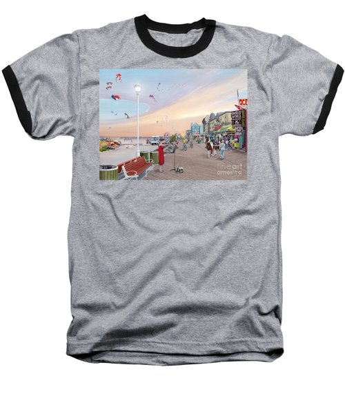 Ocean City Maryland Baseball T-Shirt by Albert Puskaric