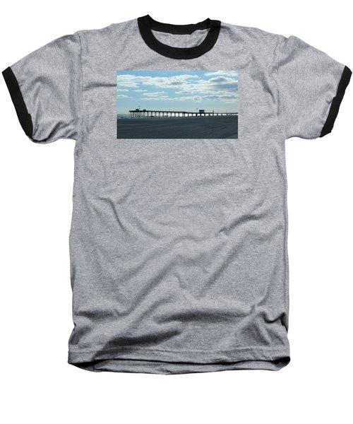 Ocean City New Jersey Pier Baseball T-Shirt