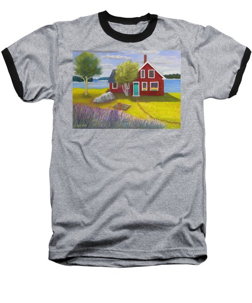 Ocean Cottage Baseball T-Shirt