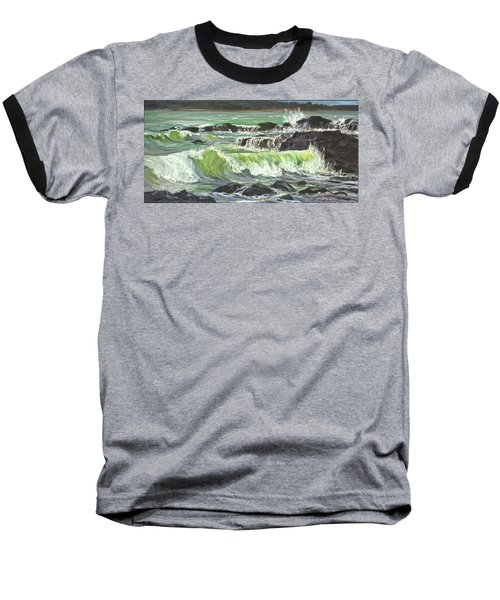 Ocean Emotion Lajolla Cove Baseball T-Shirt