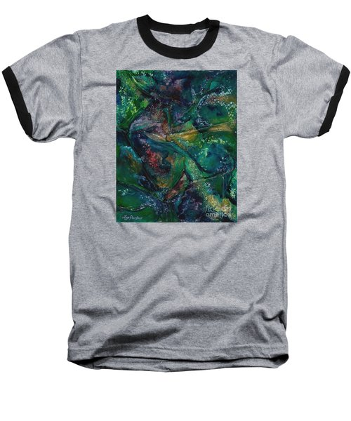Ocean Floor Baseball T-Shirt