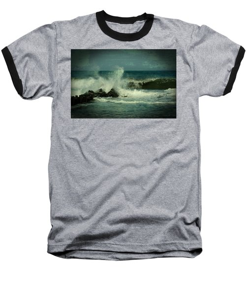 Ocean Impact - Jersey Shore Baseball T-Shirt