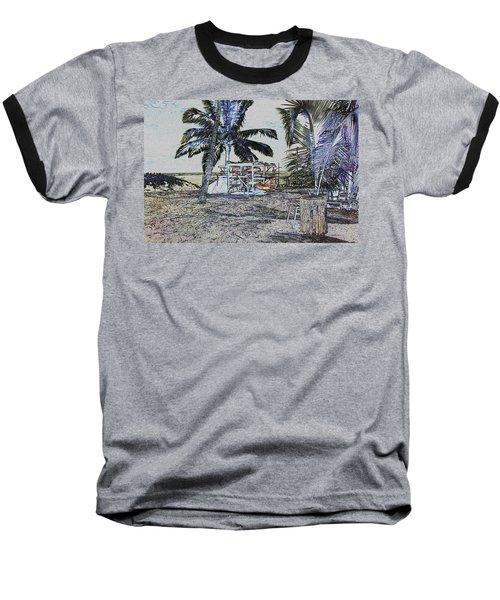 Ocean Kayacks Baseball T-Shirt