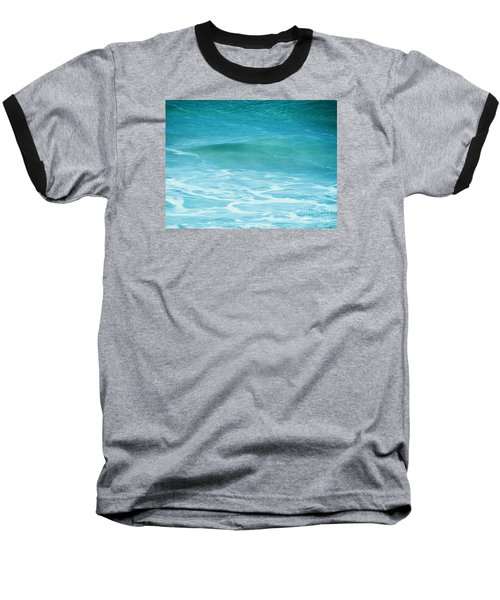 Baseball T-Shirt featuring the photograph Ocean Lullaby by Roselynne Broussard