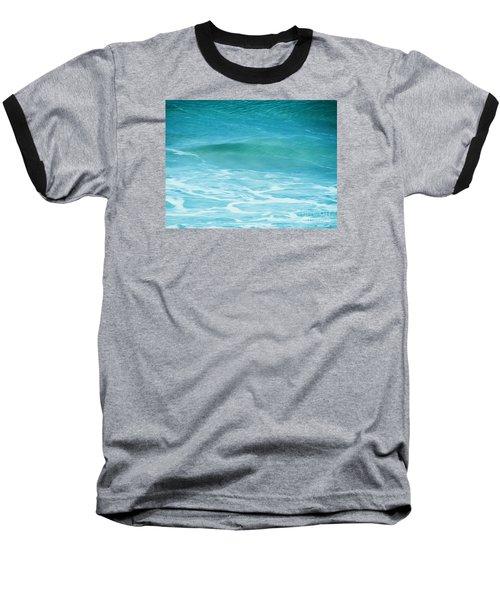 Ocean Lullaby Baseball T-Shirt by Roselynne Broussard