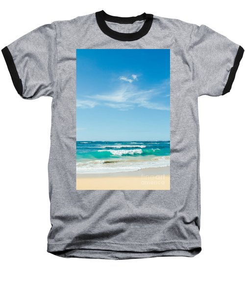 Baseball T-Shirt featuring the photograph Ocean Of Joy by Sharon Mau