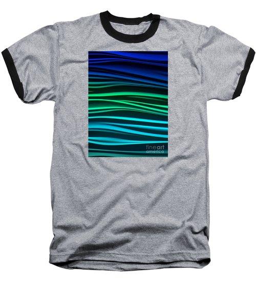 Ocean Baseball T-Shirt by Ranjini Kandasamy