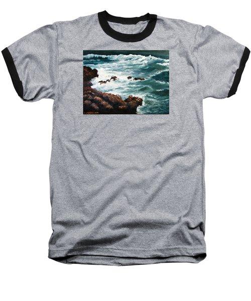 Ocean Rocks  Baseball T-Shirt