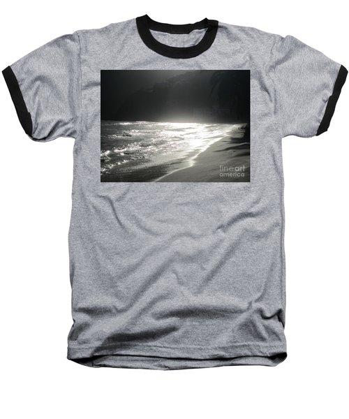 Baseball T-Shirt featuring the photograph Ocean Smile by Fiona Kennard
