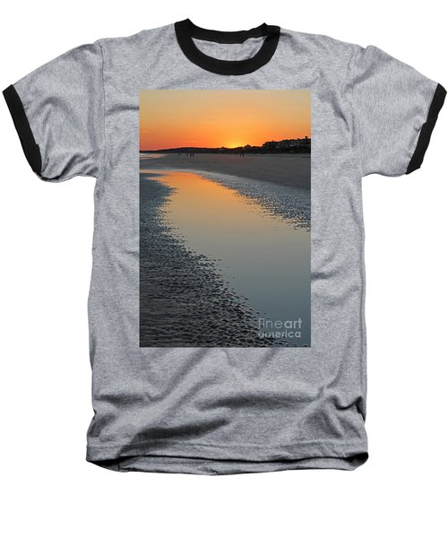 Ocean Tidal Pool Baseball T-Shirt