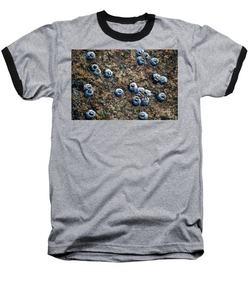 Baseball T-Shirt featuring the photograph Ocean's Quilt by Christiane Hellner-OBrien