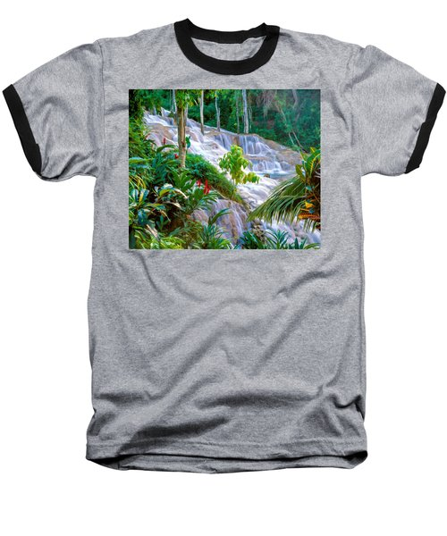 Ocho Rios Jamaica Baseball T-Shirt