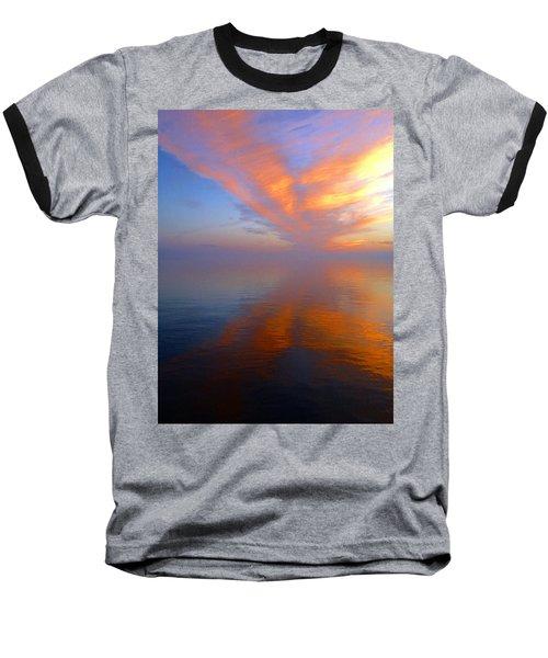Ocracoke Nc Sunrise Baseball T-Shirt
