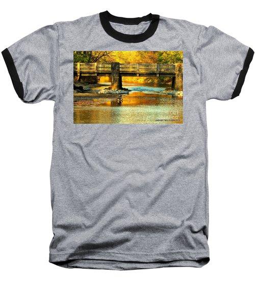 October At Robin Hood Dell Baseball T-Shirt