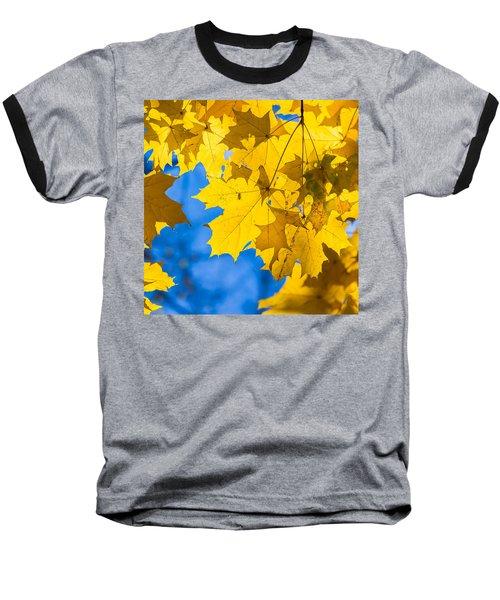 October Blues 8 - Square Baseball T-Shirt by Alexander Senin
