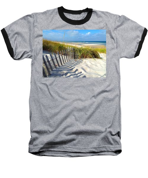 October Beach Baseball T-Shirt by Dianne Cowen