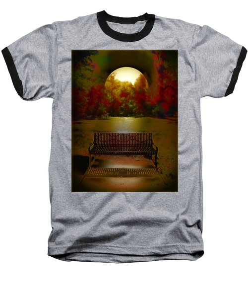 October Moon Baseball T-Shirt