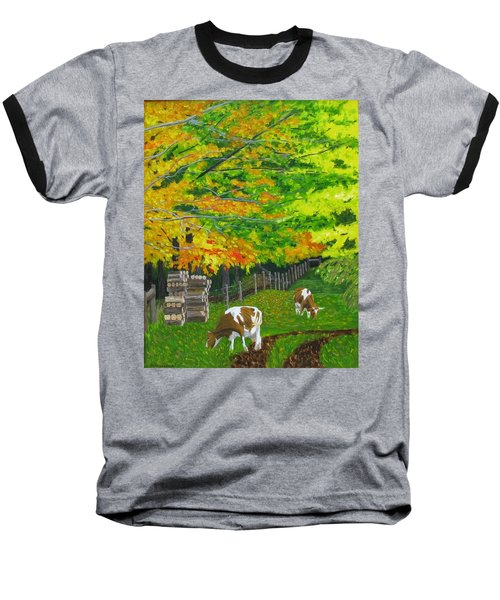 October Pasture Baseball T-Shirt