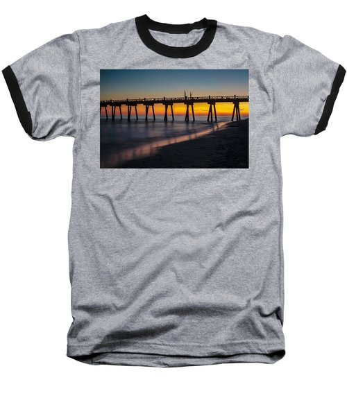 October Sunset Baseball T-Shirt
