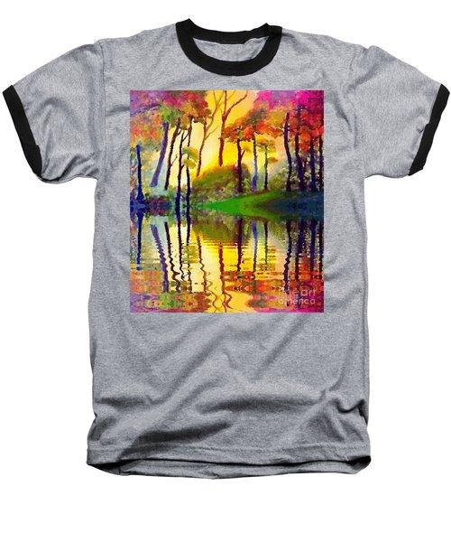 October Surprise Baseball T-Shirt by Holly Martinson