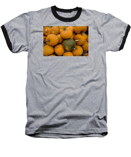 Odd One Out Baseball T-Shirt by David Millenheft