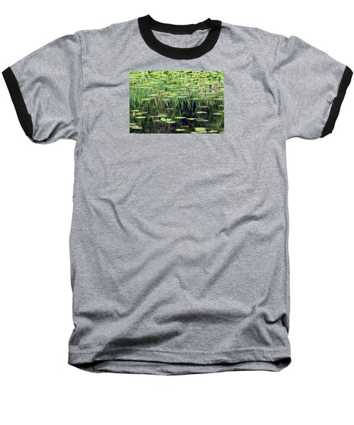 Ode To Monet Baseball T-Shirt by Chris Anderson