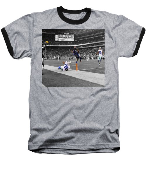 Odell Beckham Breaking The Internet Baseball T-Shirt by Brian Reaves