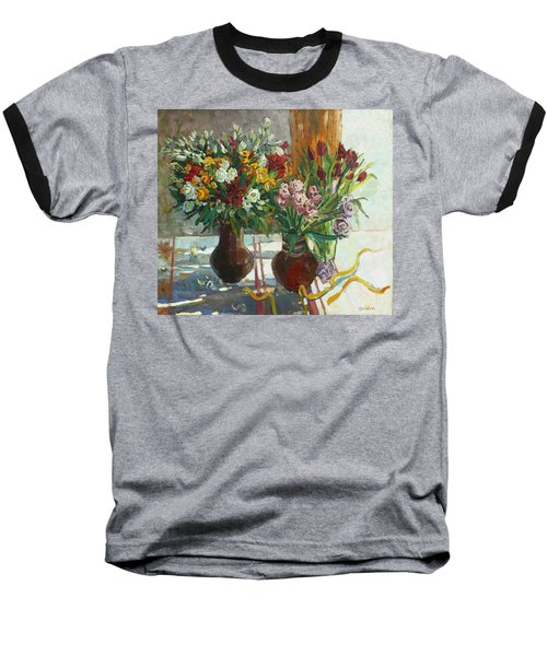 Of Bouquets Plexus Baseball T-Shirt