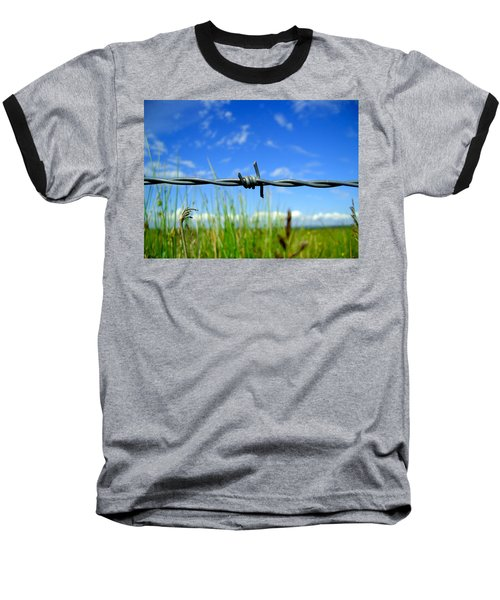 Baseball T-Shirt featuring the photograph Off Limits by Nina Ficur Feenan