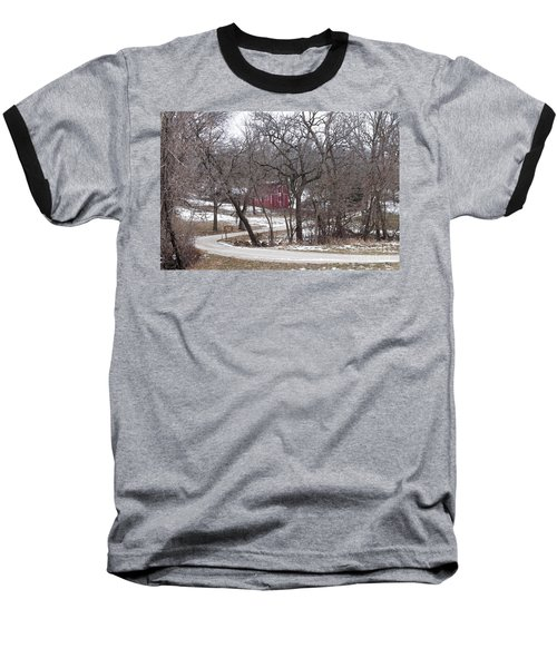 Baseball T-Shirt featuring the photograph Off The Beaten Path by Liane Wright