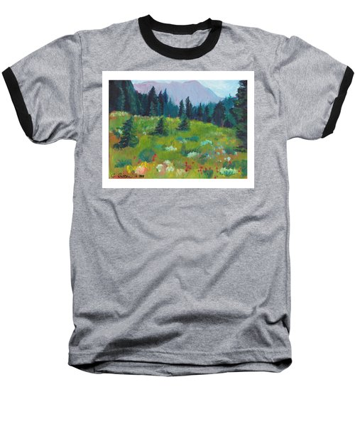 Off The Trail Baseball T-Shirt by C Sitton