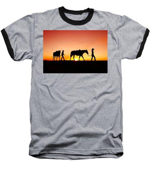Off To The Barn Baseball T-Shirt