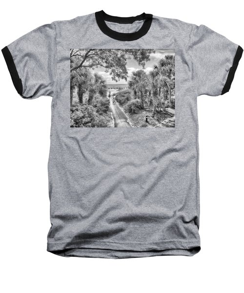 Baseball T-Shirt featuring the photograph Off To The Beach by Howard Salmon
