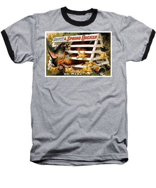 Oh Mama Baseball T-Shirt