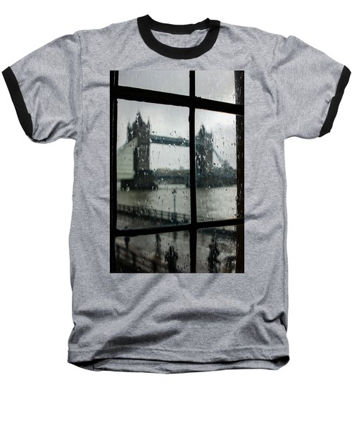 Baseball T-Shirt featuring the photograph Oh So London by Georgia Mizuleva